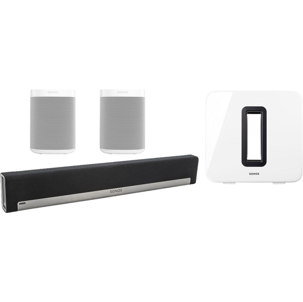 Sonos Playbar 5.1 + One SL (2x) + Sub Wit