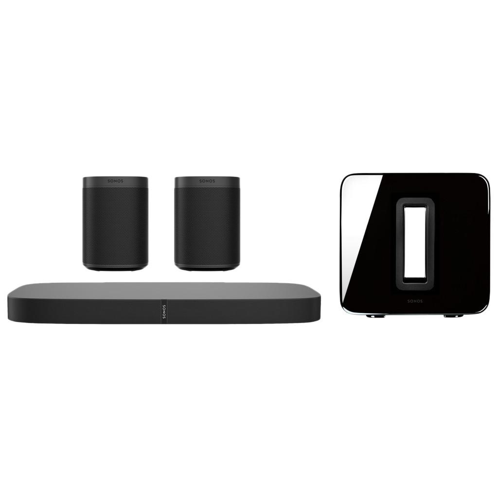 Sonos Playbase 5.1 + One SL (2x) + Sub Zwart