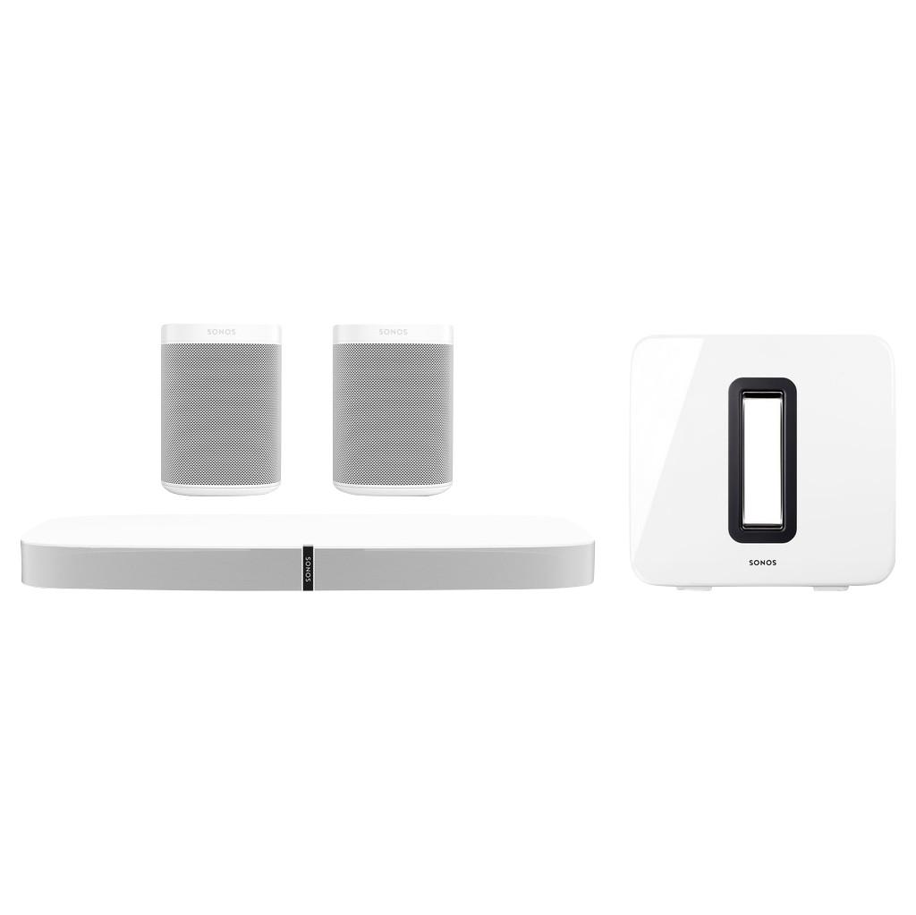Sonos Playbase 5.1 + One SL (2x) + Sub Wit