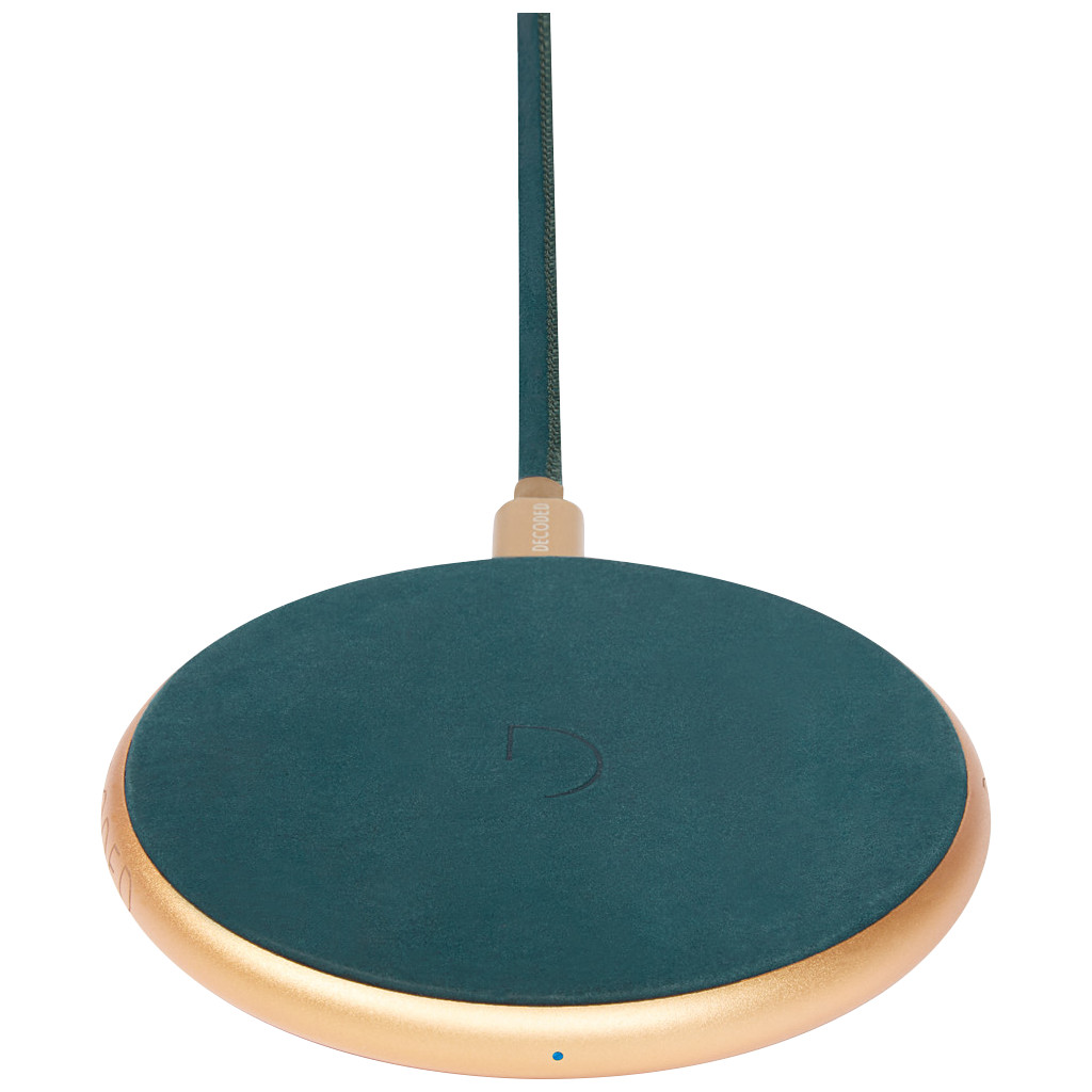 Decoded Fast Pad Draadloze Oplader 10W Groen