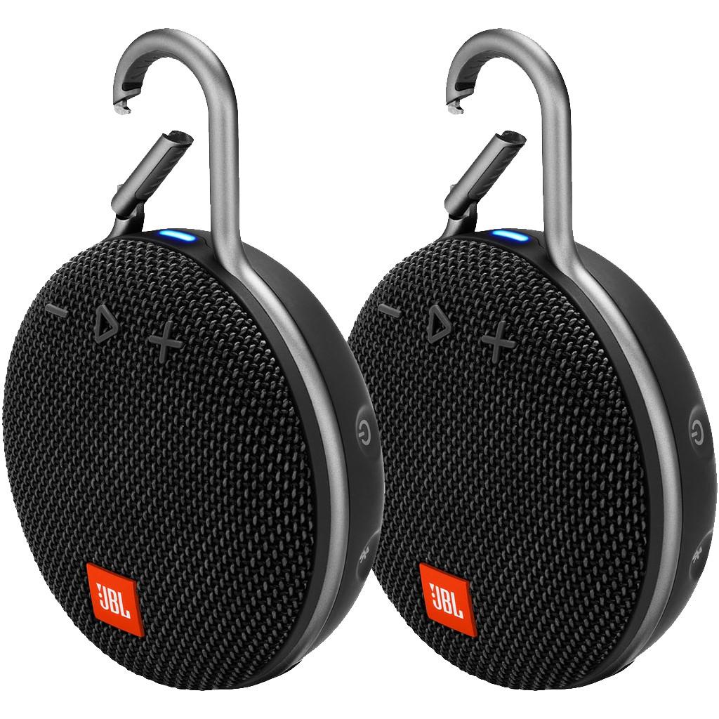 JBL Clip 3 Duo Pack Zwart