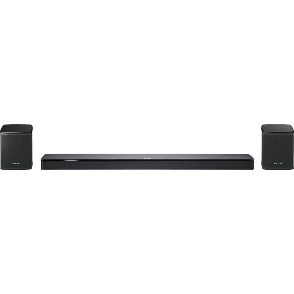 Bose Soundbar 500 5.0 + Bose Surround Speakers Zwart