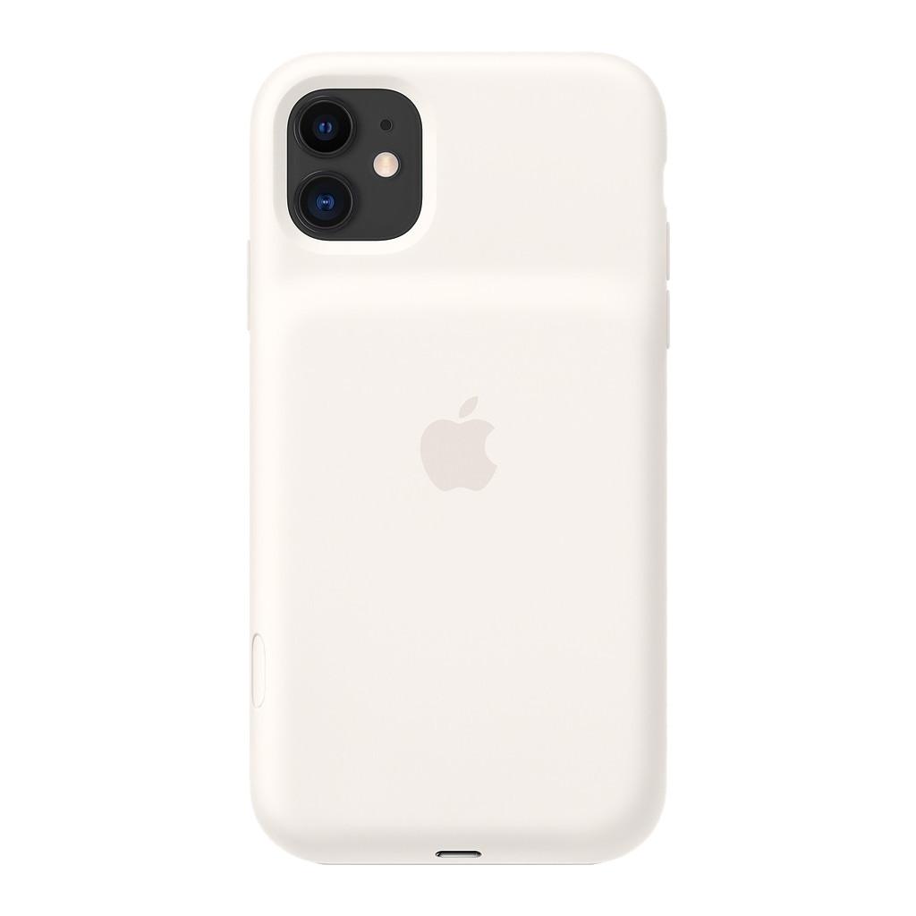 Apple iPhone 11 Smart Battery Case met Draadloos Opladen Wit