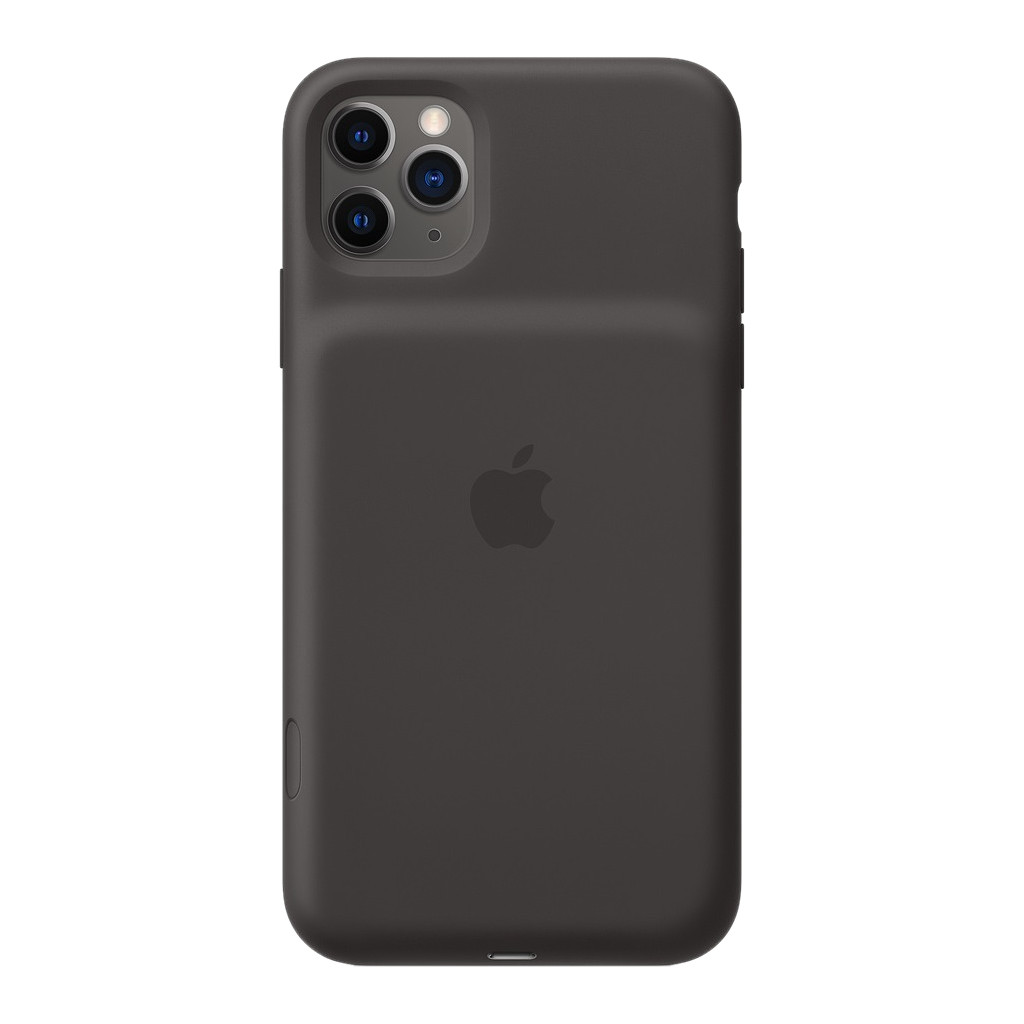 Apple iPhone 11 Pro Max Smart Battery Case met Draadloos Opladen Zwart