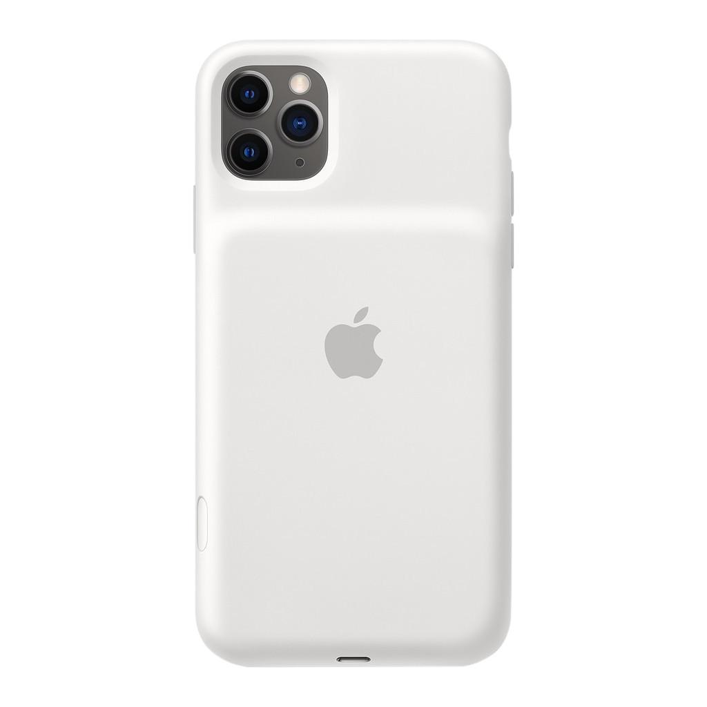 Apple iPhone 11 Pro Max Smart Battery Case met Draadloos Opladen Wit