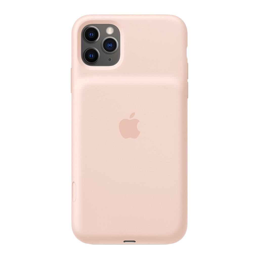 Apple iPhone 11 Pro Max Smart Battery Case met Draadloos Opladen Rozenkwarts