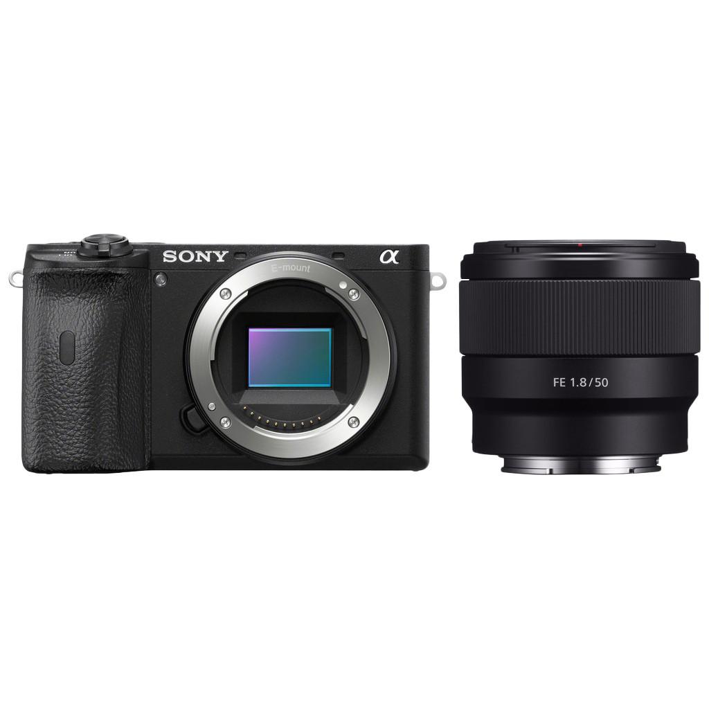 Sony Alpha A6600 + 50mm f/1.8