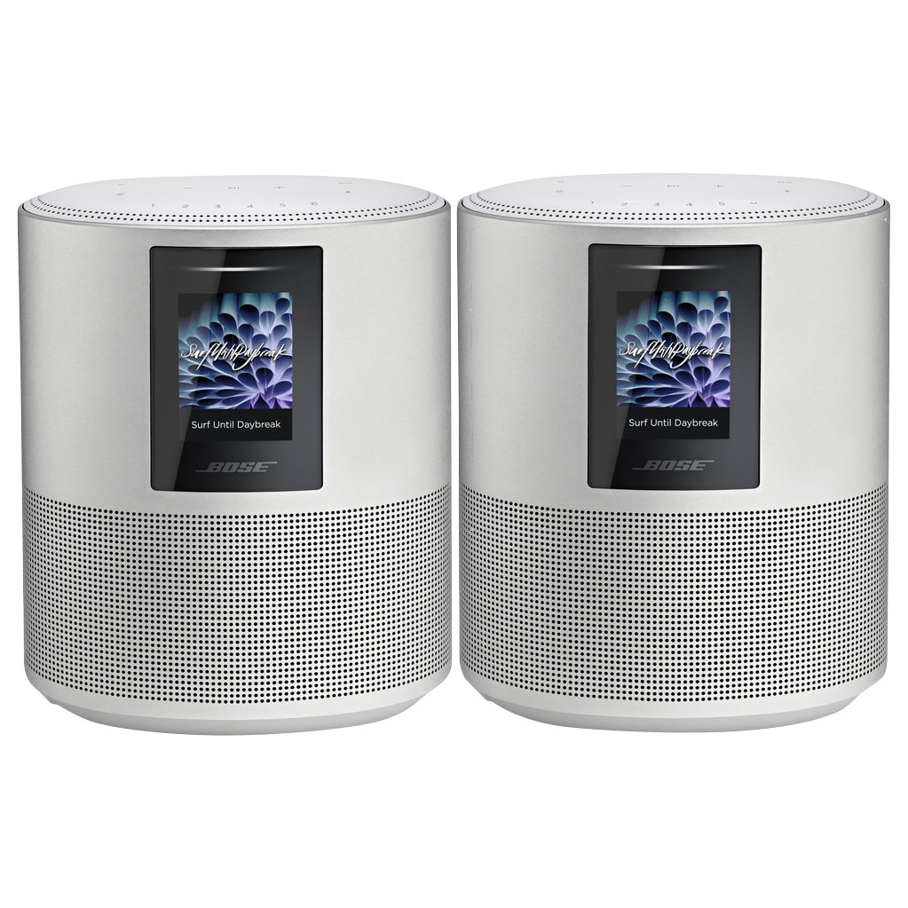 Bose Home Speaker 500 Duo Pack Zilver