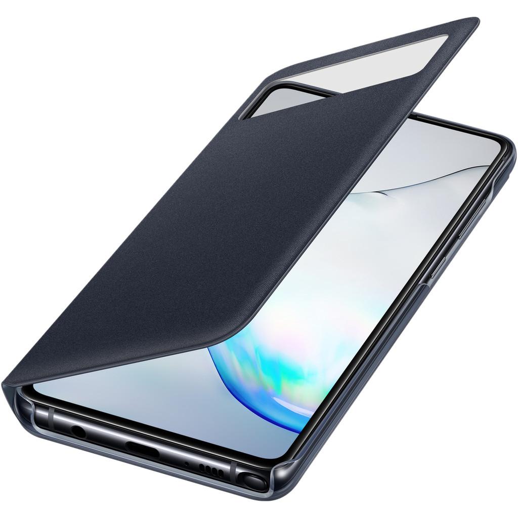 Samsung Galaxy Note 10 Lite S View Book Case Zwart