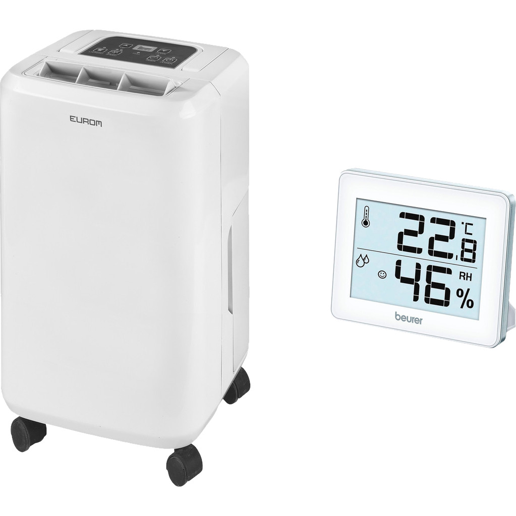 Eurom Dry Best 20 + Hygrometer