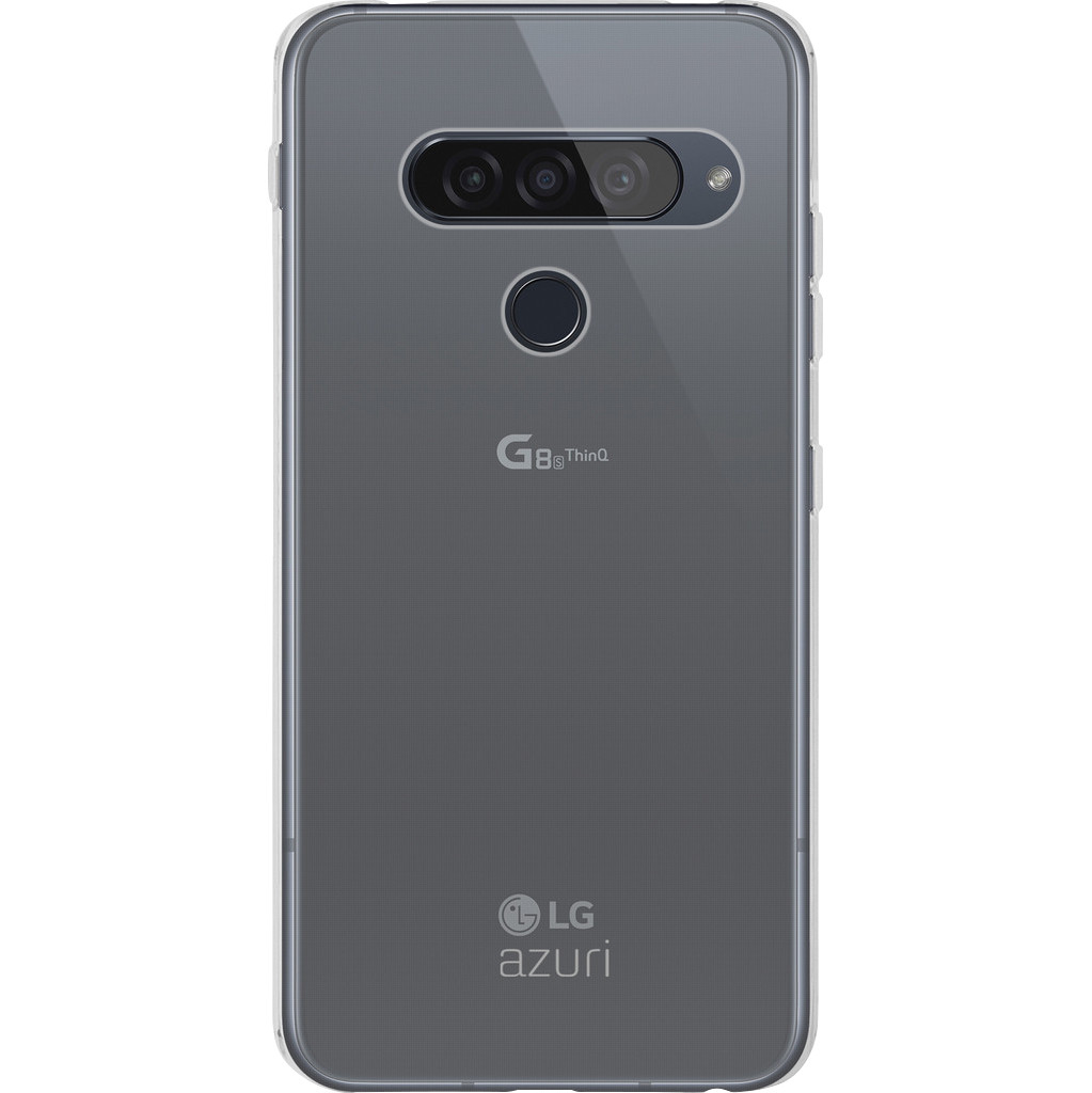 Azuri TPU LG G8s ThinQ Back Cover Transparant