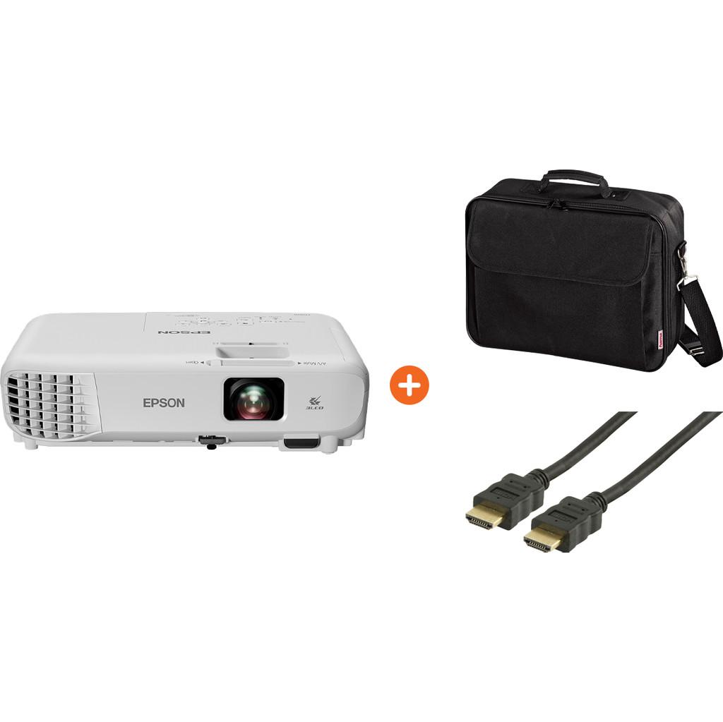 Epson EB-S05 + HDMI kabel 1,5 meter + Tas