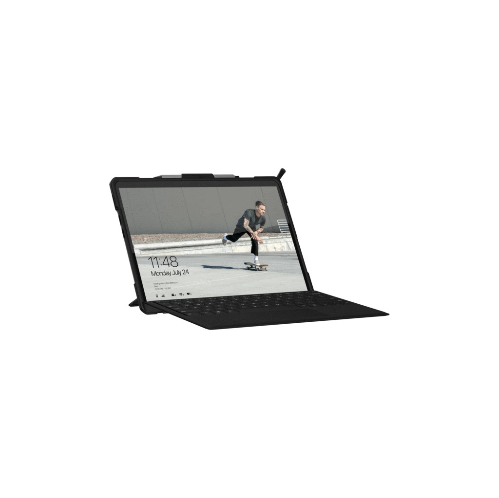 UAG Metropolis Surface Pro X Book Case Zwart