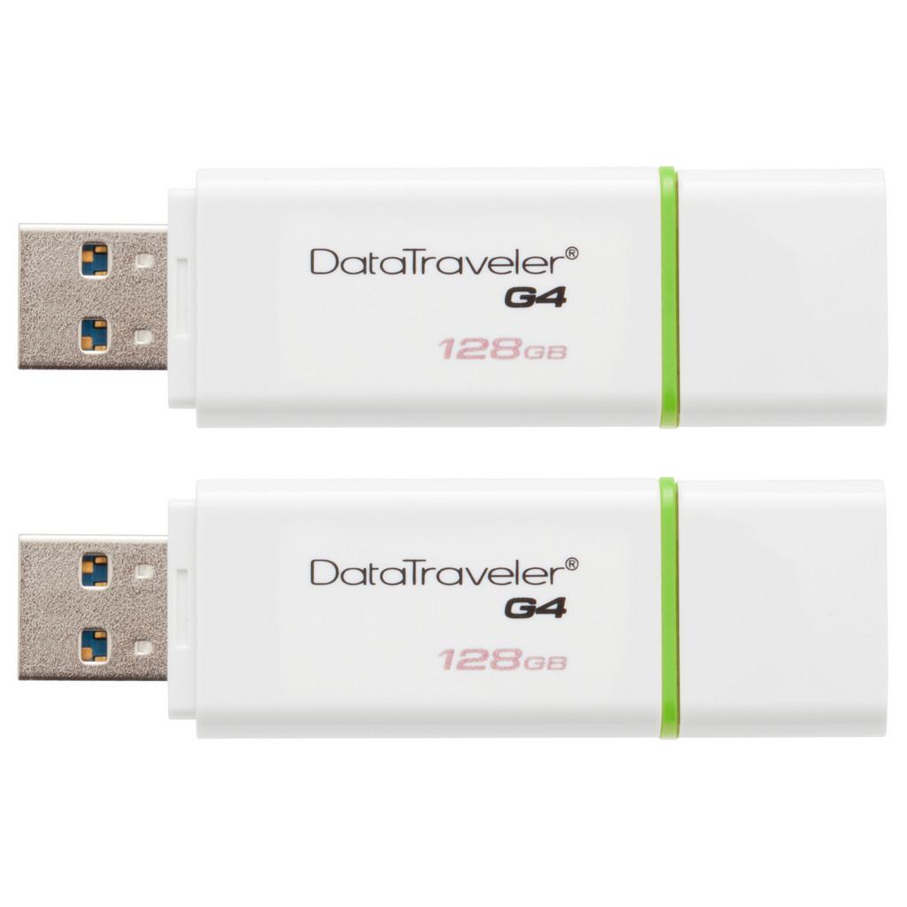 Kingston DataTraveler G4 128 GB Duo Pack
