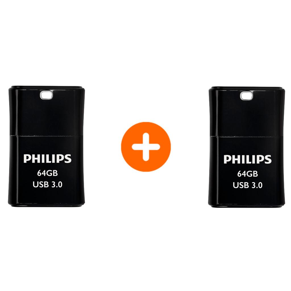 Philips Pico Usb 3.0 64GB Duo Pack