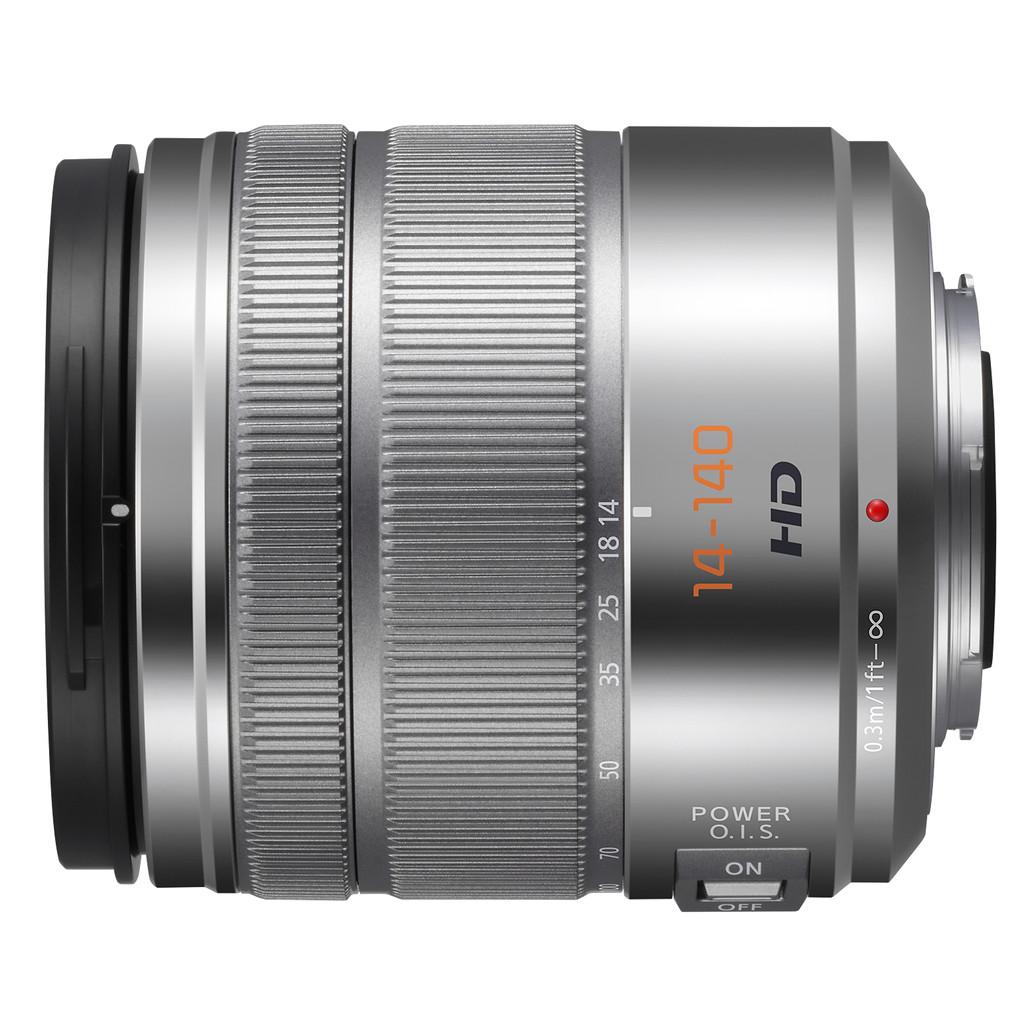 Panasonic Lumix G Vario 14-140mm f/3.5-5.6 ASPH. Zilver