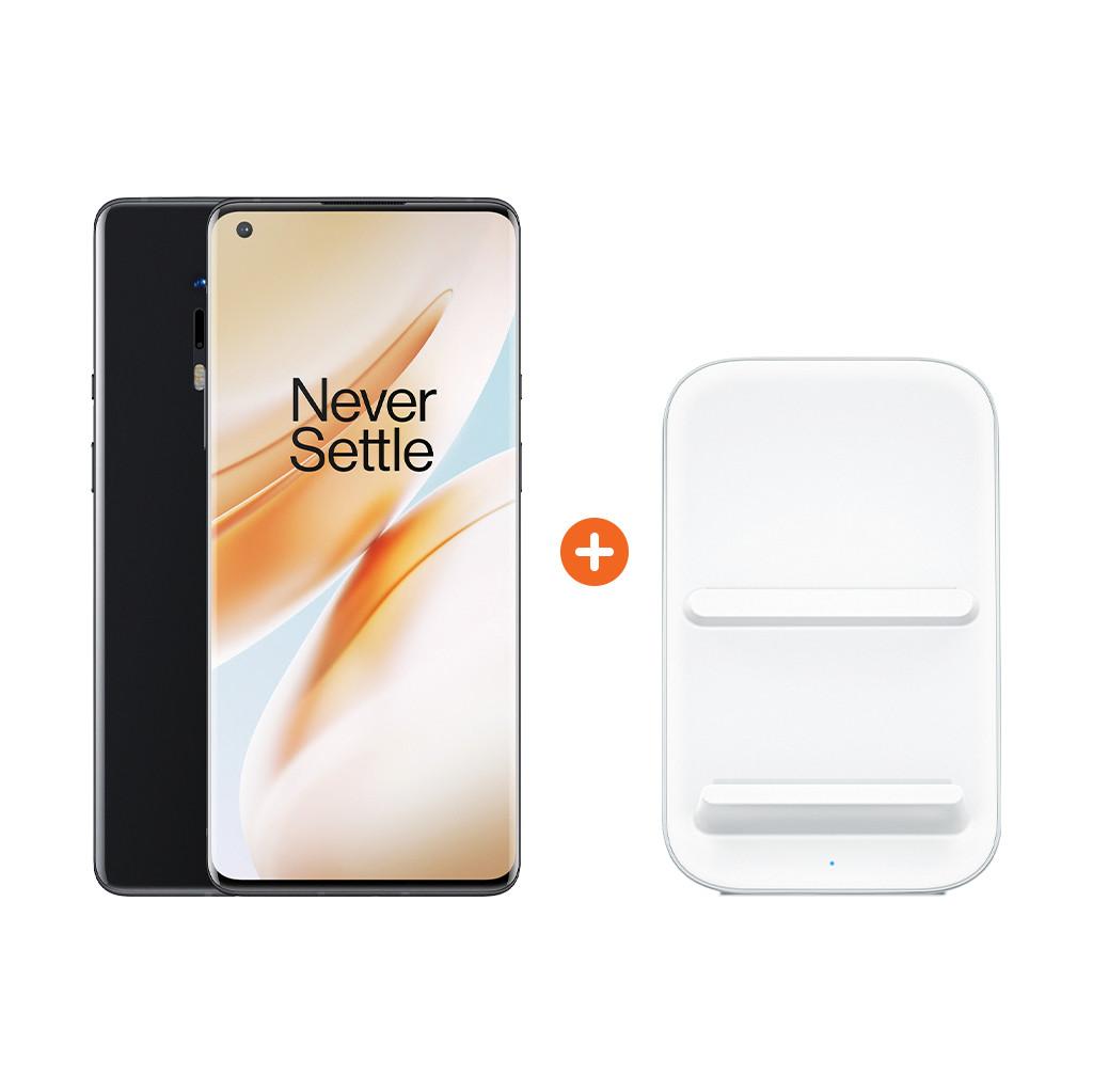 OnePlus 8 Pro 128GB Zwart 5G + OnePlus Draadloze Oplader 30W