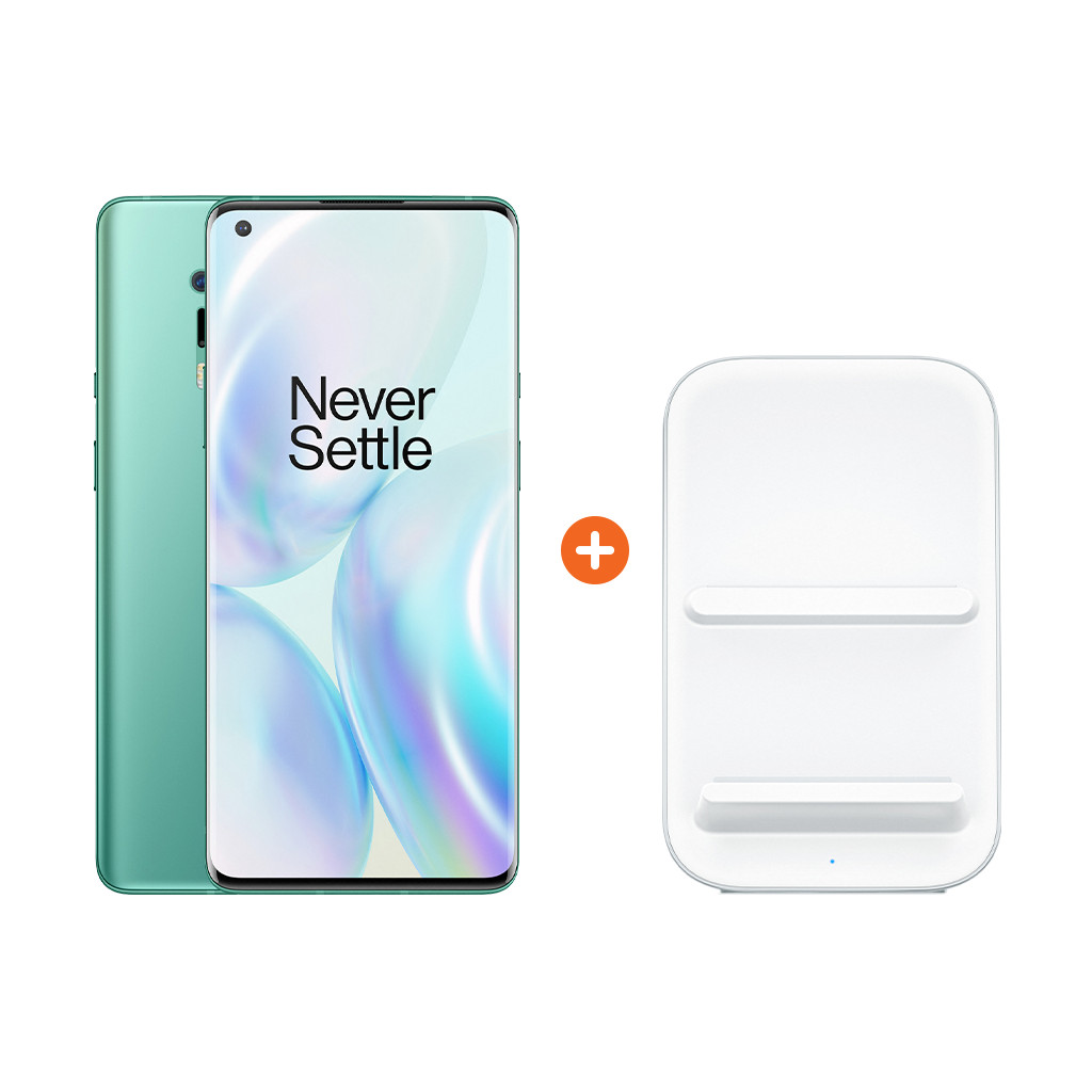OnePlus 8 Pro 256GB Groen 5G + OnePlus Draadloze Oplader 30W