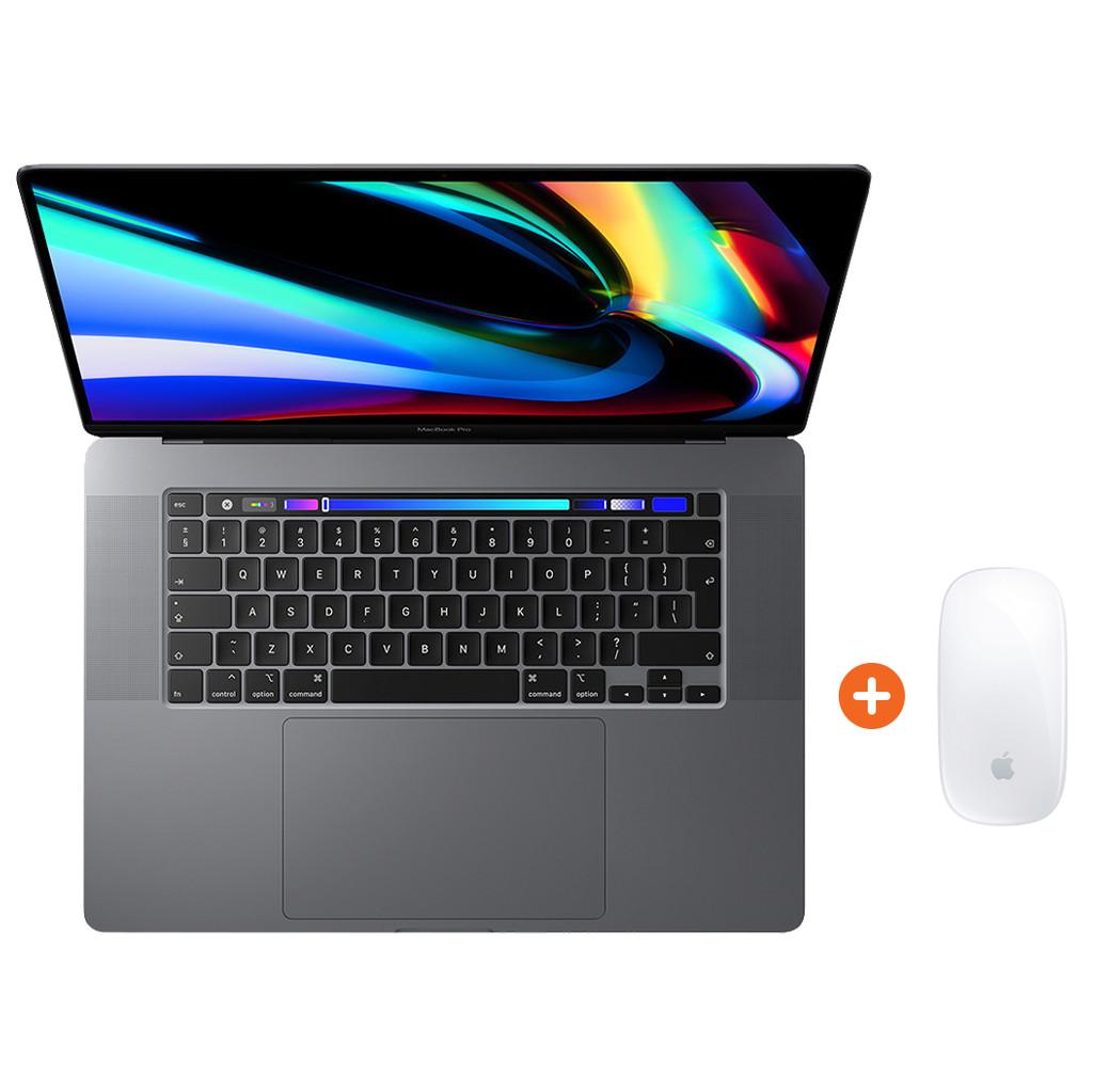 Apple MacBook Pro 16 (2019) MVVJ2FN/A Space Gray AZERTY +  Magic Mouse 2
