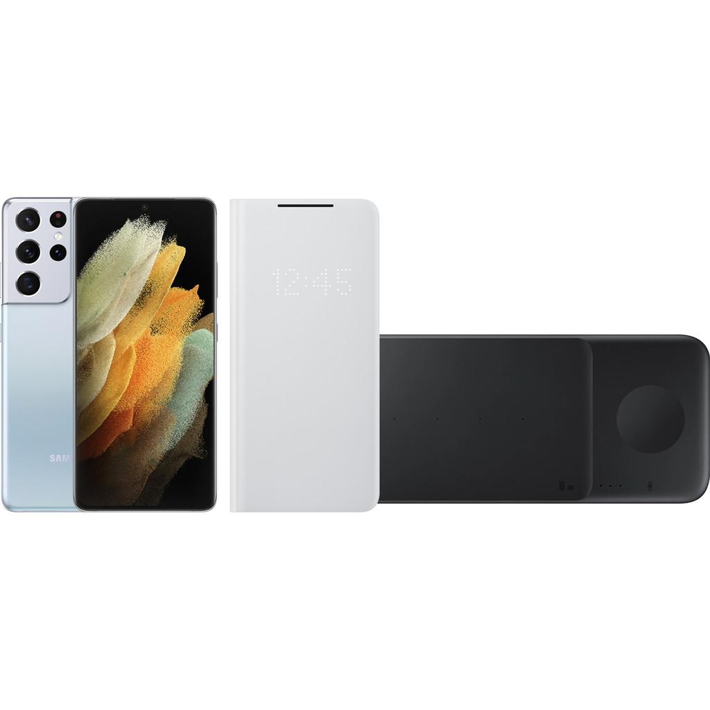 Starterspakket – Samsung Galaxy S21 Ultra 256GB Zilver 5G