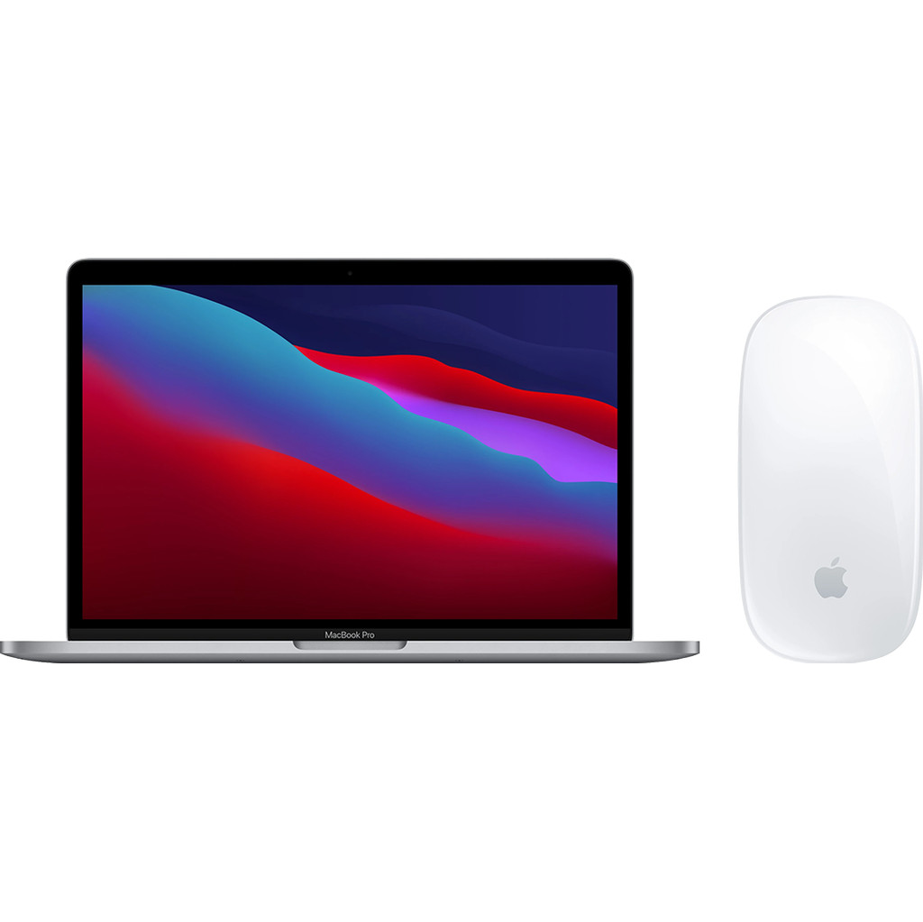 Apple MacBook Pro 13 (2020) MYD82FN/A Space Gray AZERTY + Apple Magic Mouse 2