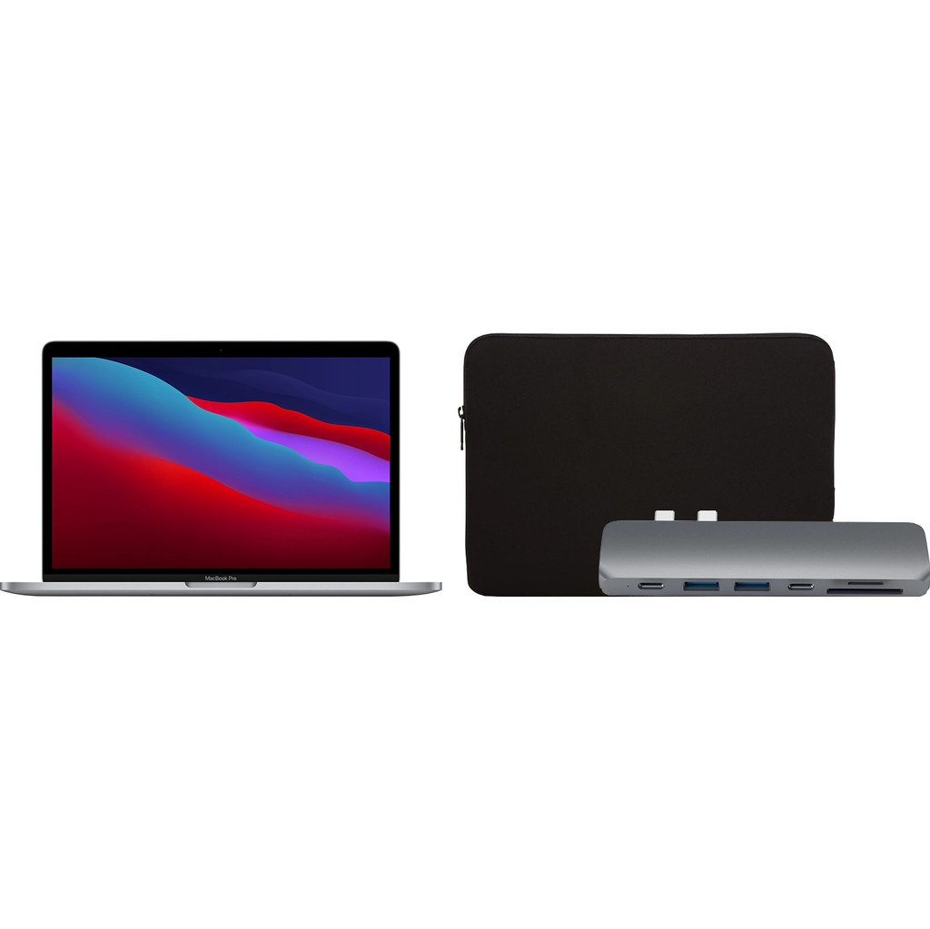 Startpakket – Apple MacBook Pro 13 (2020) MYD82FN/A Space Gray AZERTY