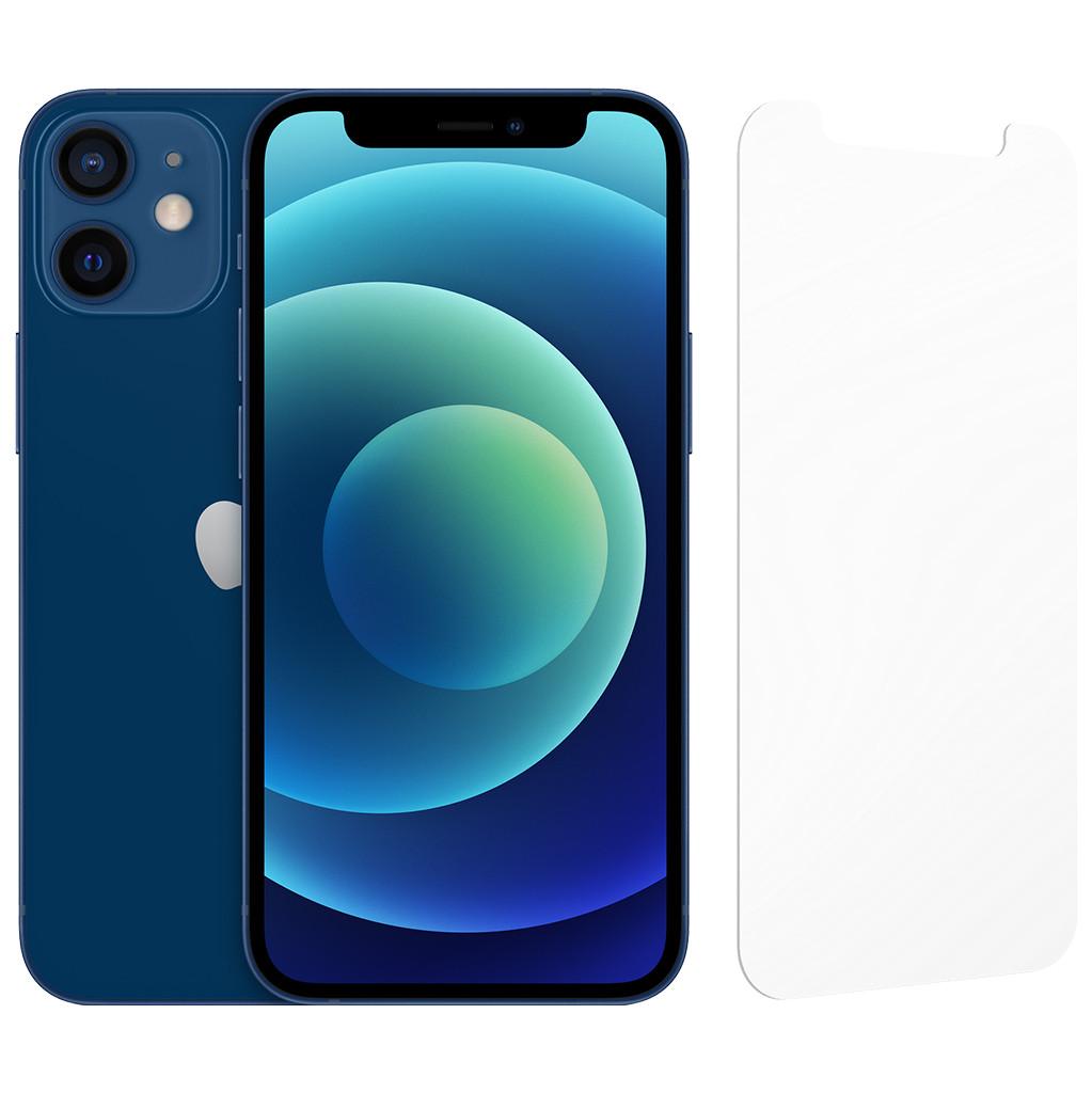 Apple iPhone 12 mini 64GB Blauw + InvisibleShield Glass Elite Screenprotector