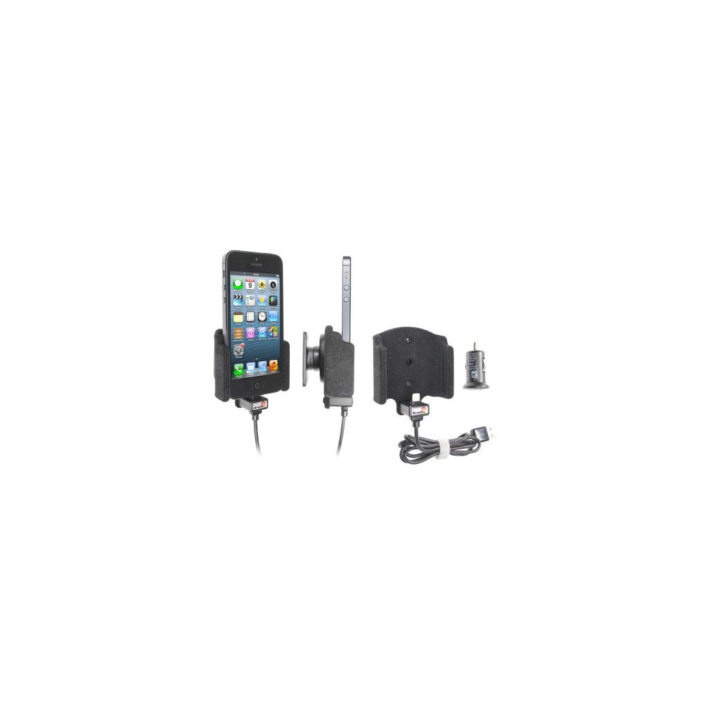 Brodit Support Apple iPhone 5/5S/SE avec Chargeur