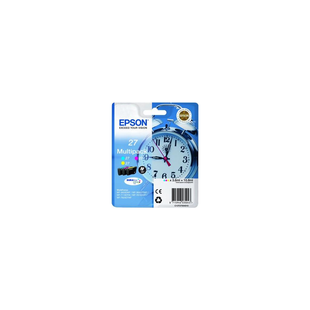 Epson 27 Pack Combiné 3 Couleurs C13T27054010