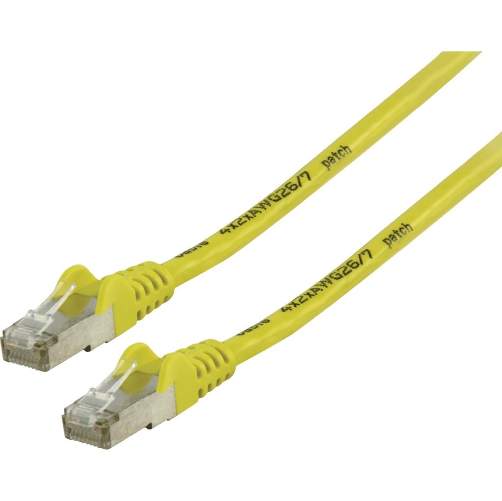 Valueline Câble réseau FTP CAT6 5 mètres Jaune