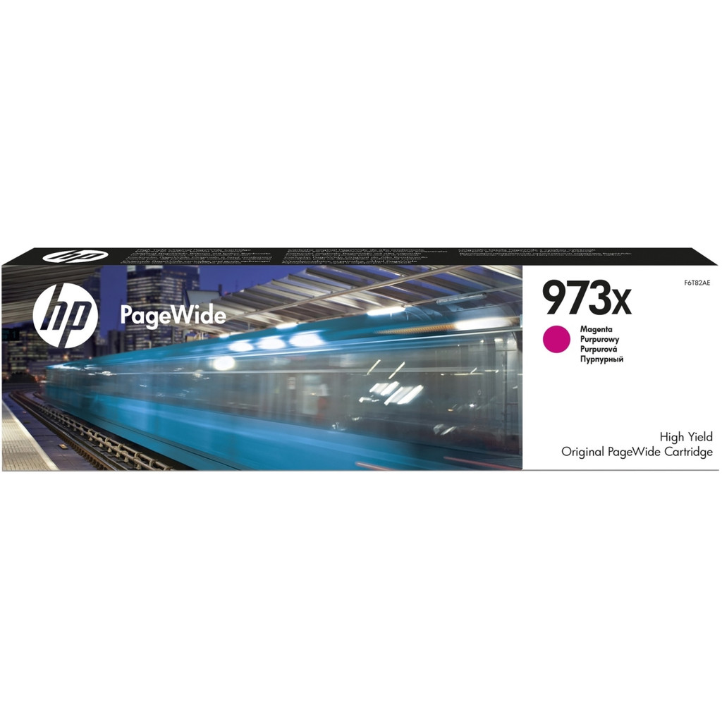 HP 973X PageWide Cartridge Magenta (F6T82AE)
