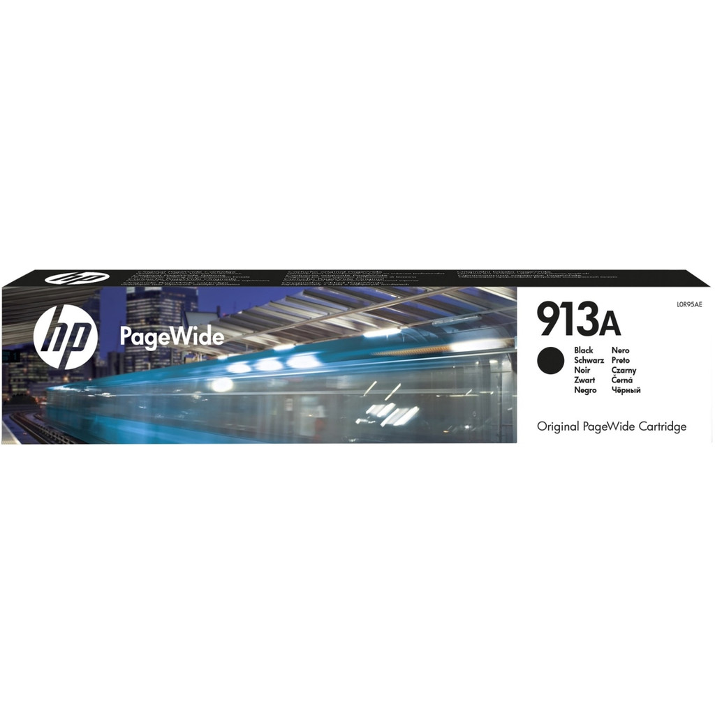 HP 913A PageWide Cartridge Zwart (L0R95AE)
