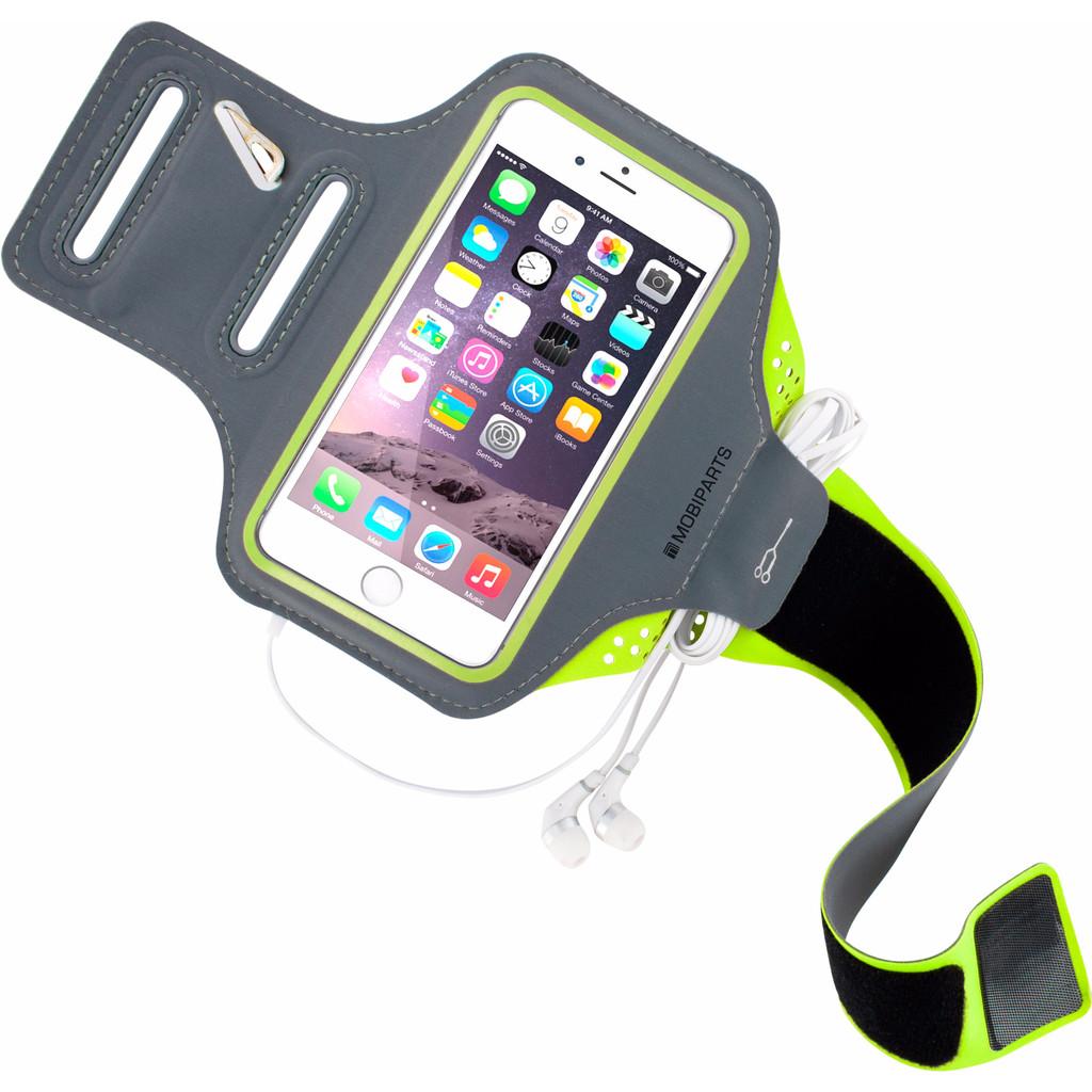 Mobiparts Comfort Fit Sportarmband Apple iPhone 6/6s Groen