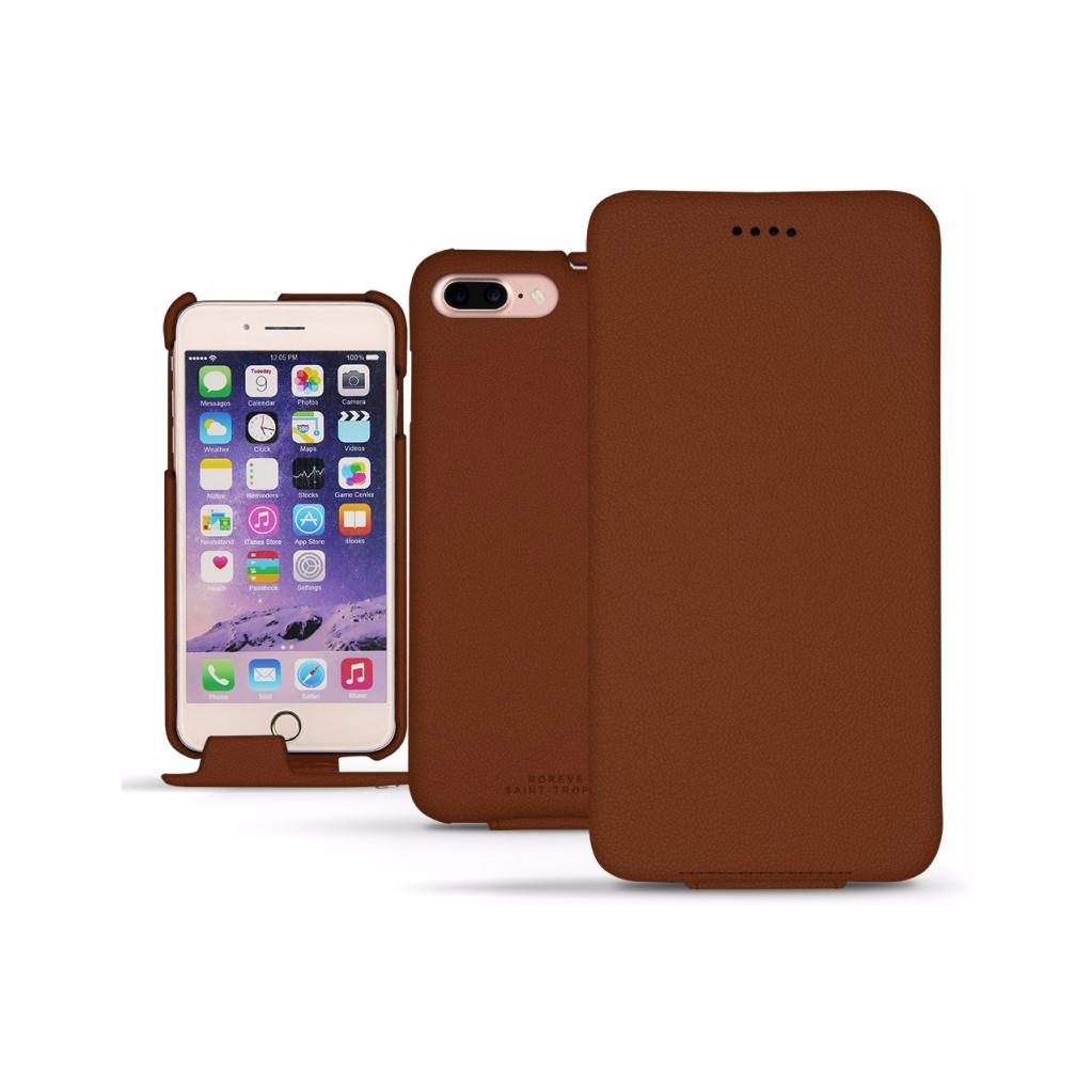 Noreve Tradition Leather Case Apple iPhone 7 Plus/8 Plus Bruin
