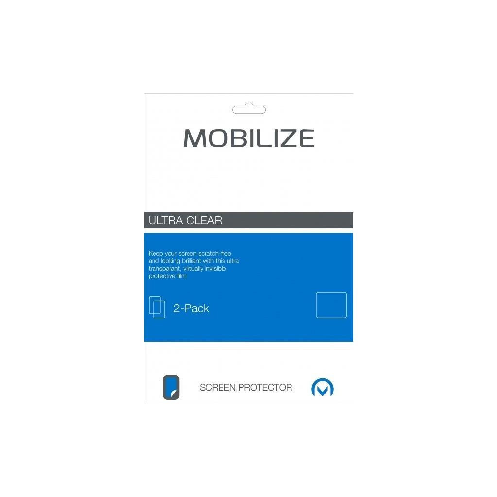 MobilizeMotorola Moto G5S Plus Protège-écran en Plastique Lot de 2