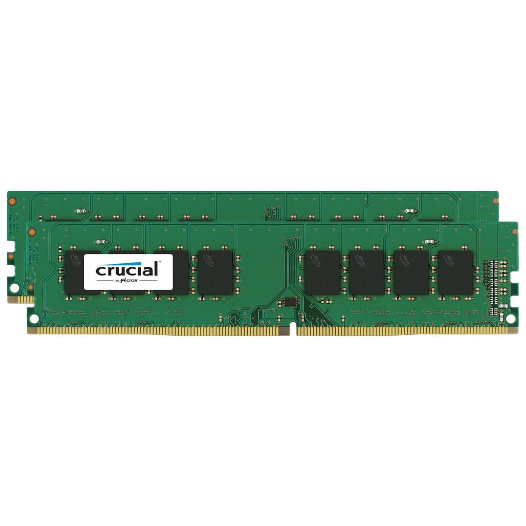 Crucial Standard 32GB DDR4 DIMM 2400 MHz (2x16GB)