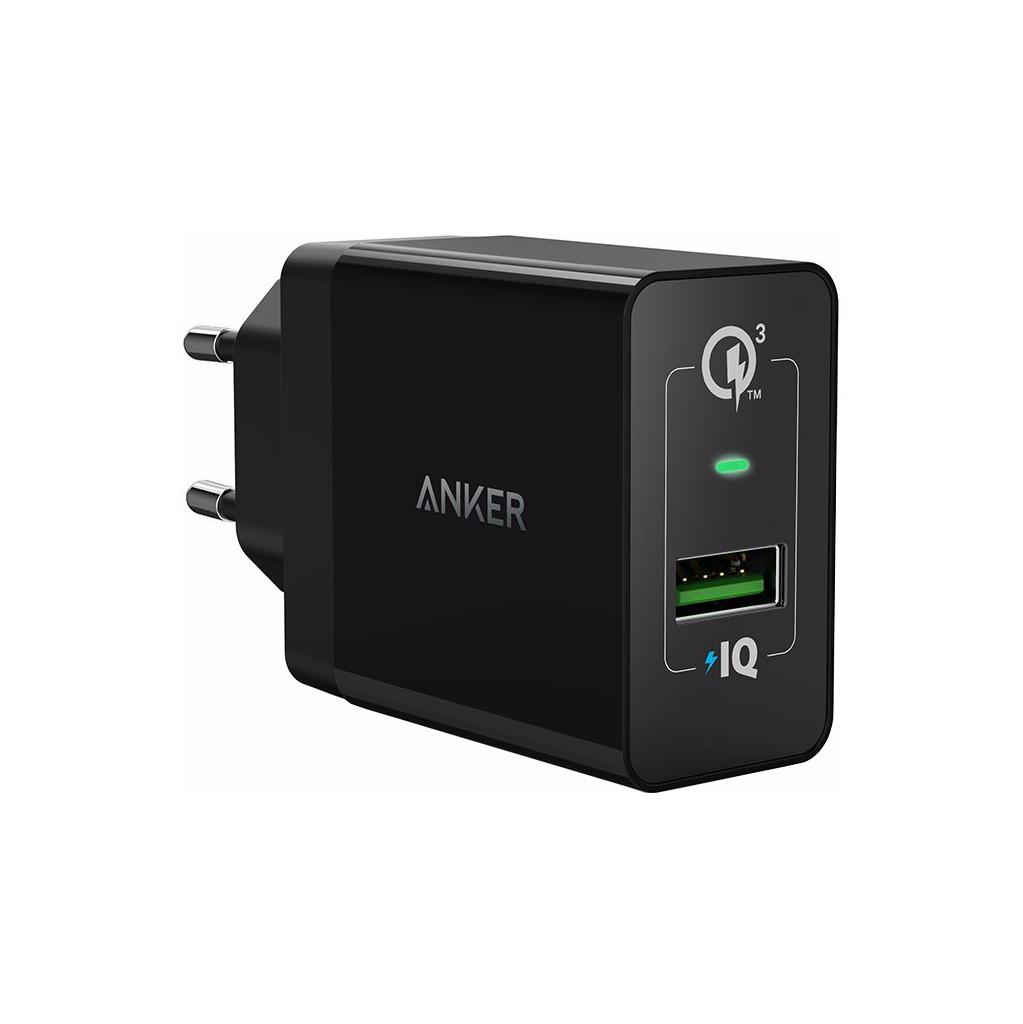 Anker PowerPort+1 Adaptateur USB Quick Charge 3.0 Noir