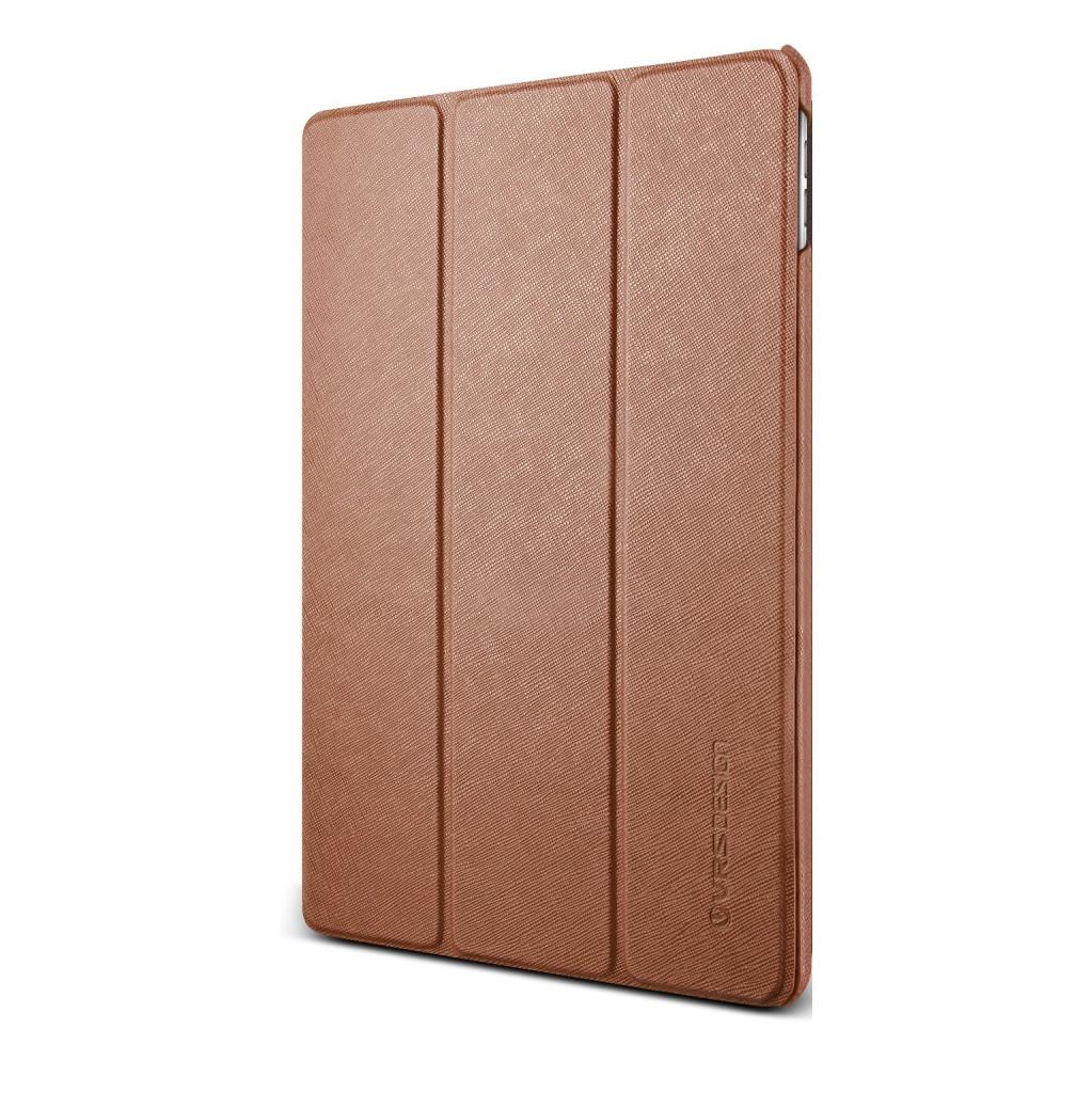 VRS Design Saffiano K1 Apple iPad Hoes Bruin