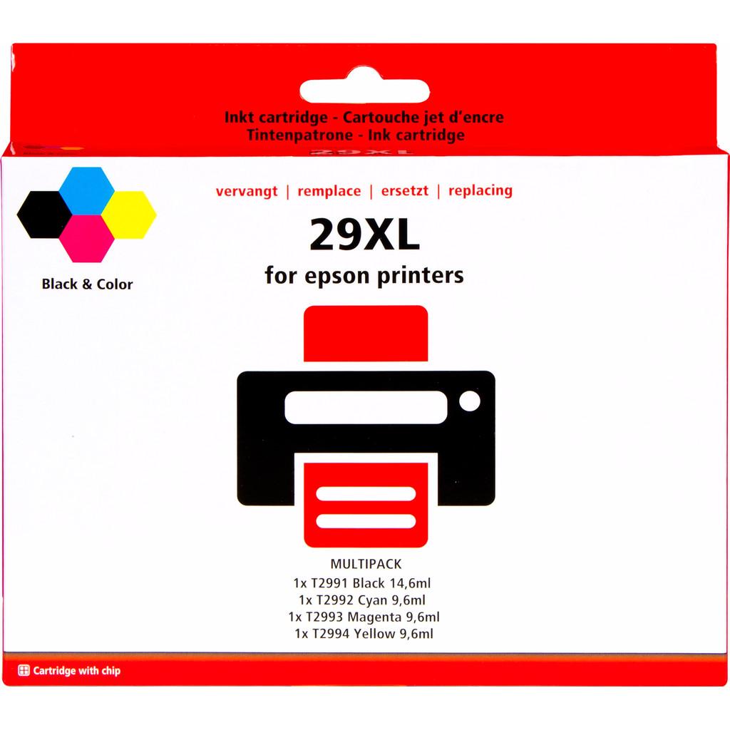 Pixeljet 29 XL 4-Kleuren Pack voor Epson printers (C13T29964010)