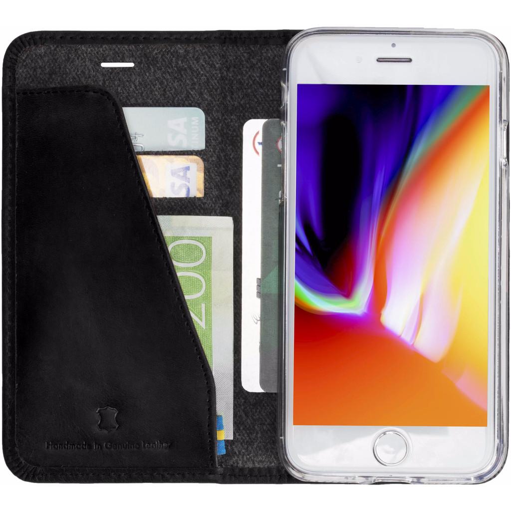 Krusell Sunne Apple iPhone 8 Book Case Zwart