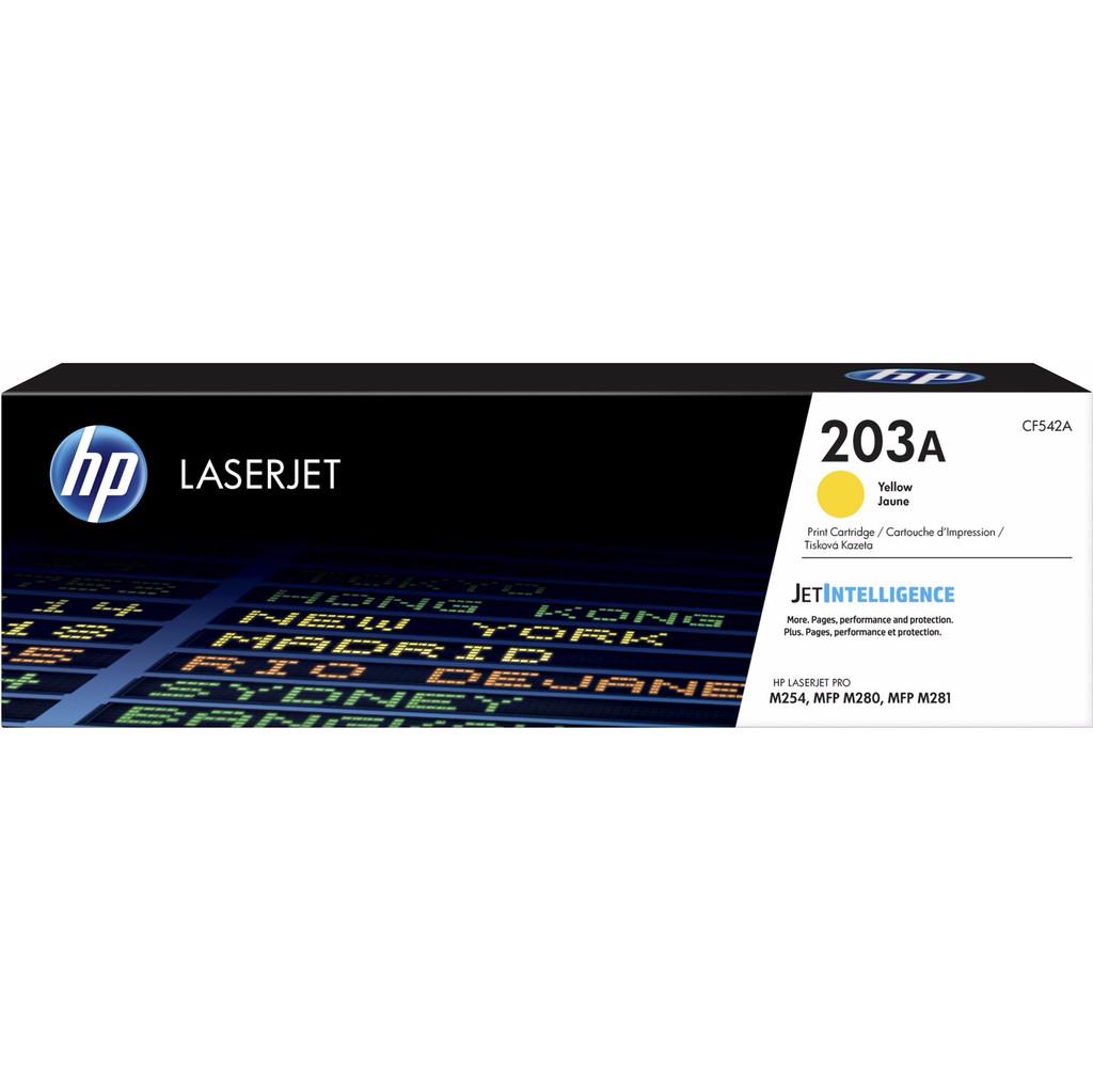 HP 203A Toner Jaune (CF542A)