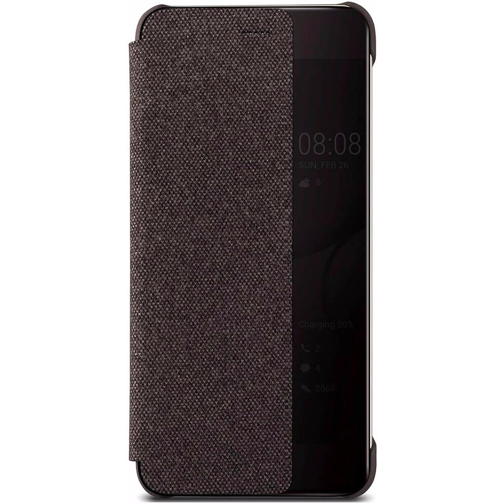 Huawei P10 Plus View Cover Book Case Bruin