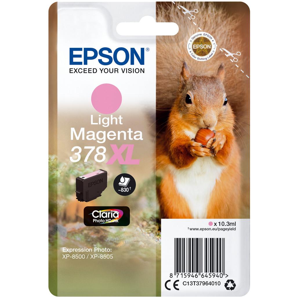Epson 378XL Magenta clair (C13T37964010)