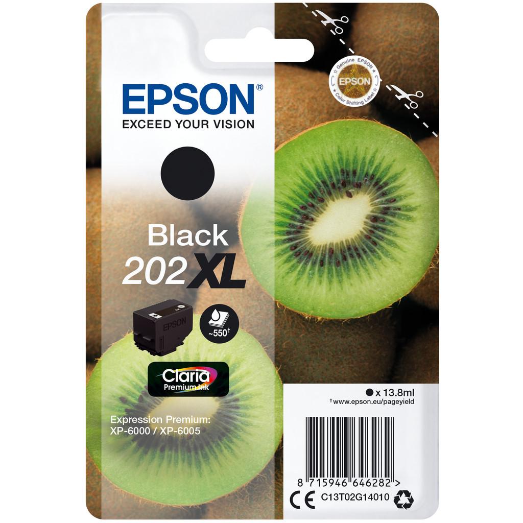 Epson 202XL Noir (C13T02G14010)