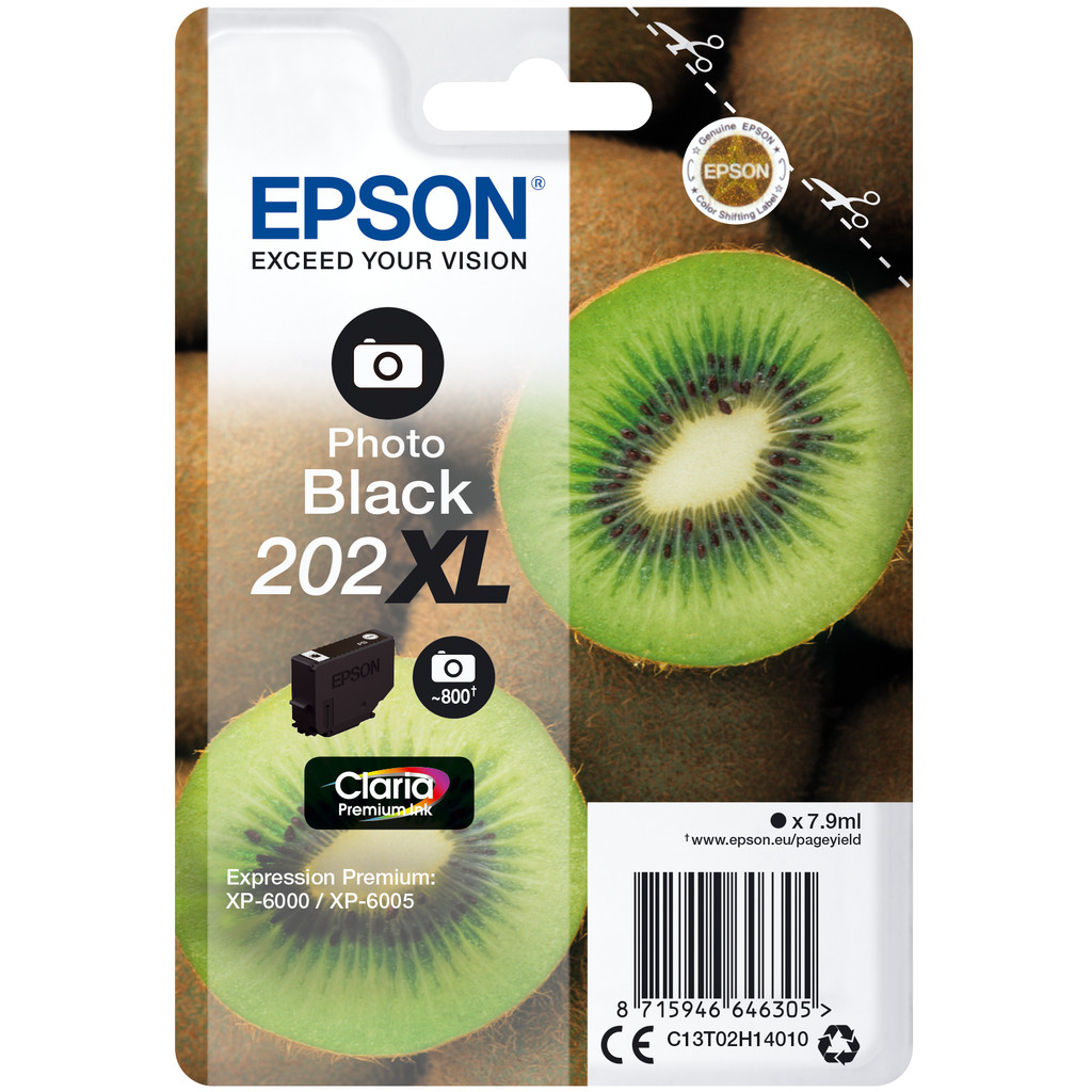 Epson 202XL Photo Noir (C13T02H14010)