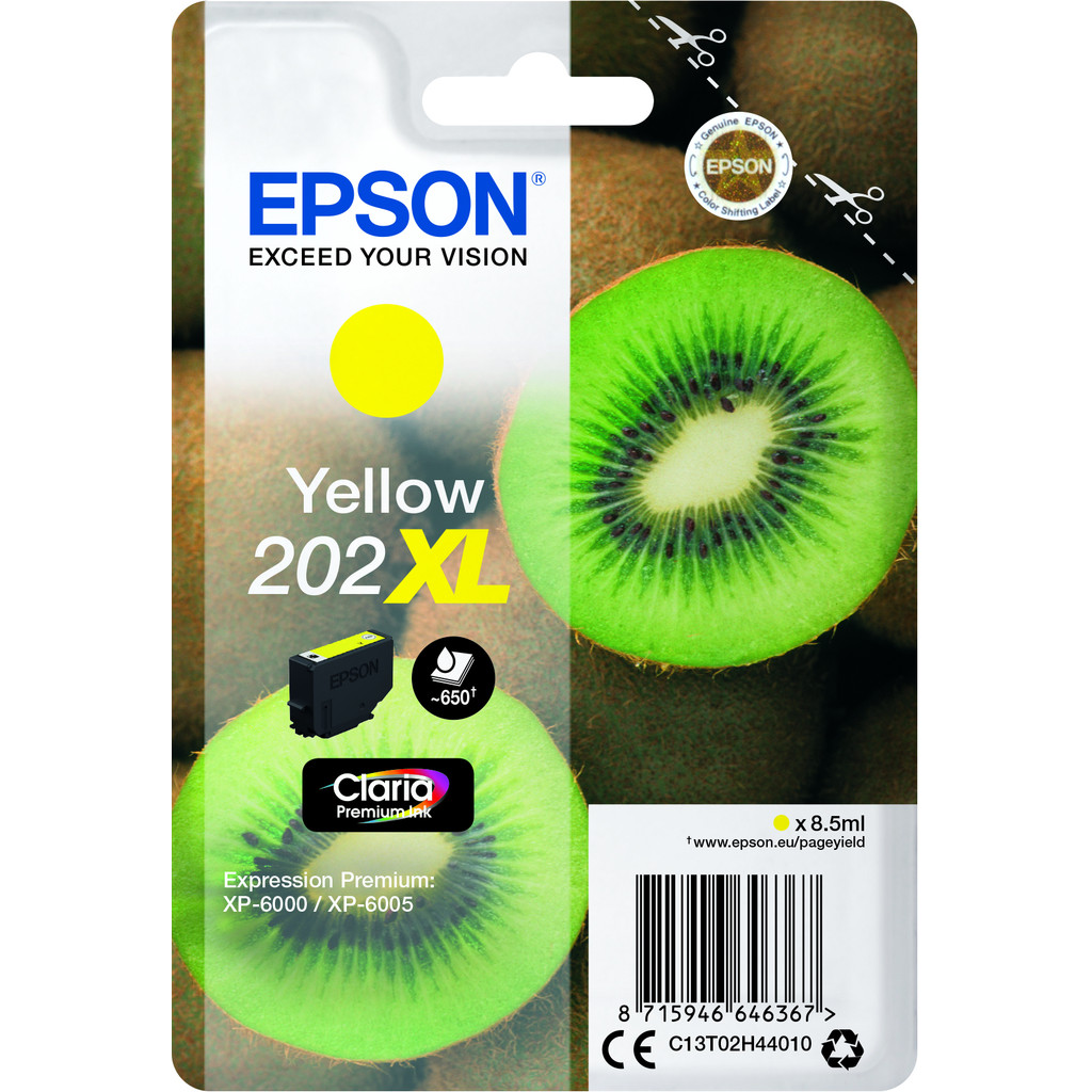 Epson 202XL Jaune (C13T02H44010)