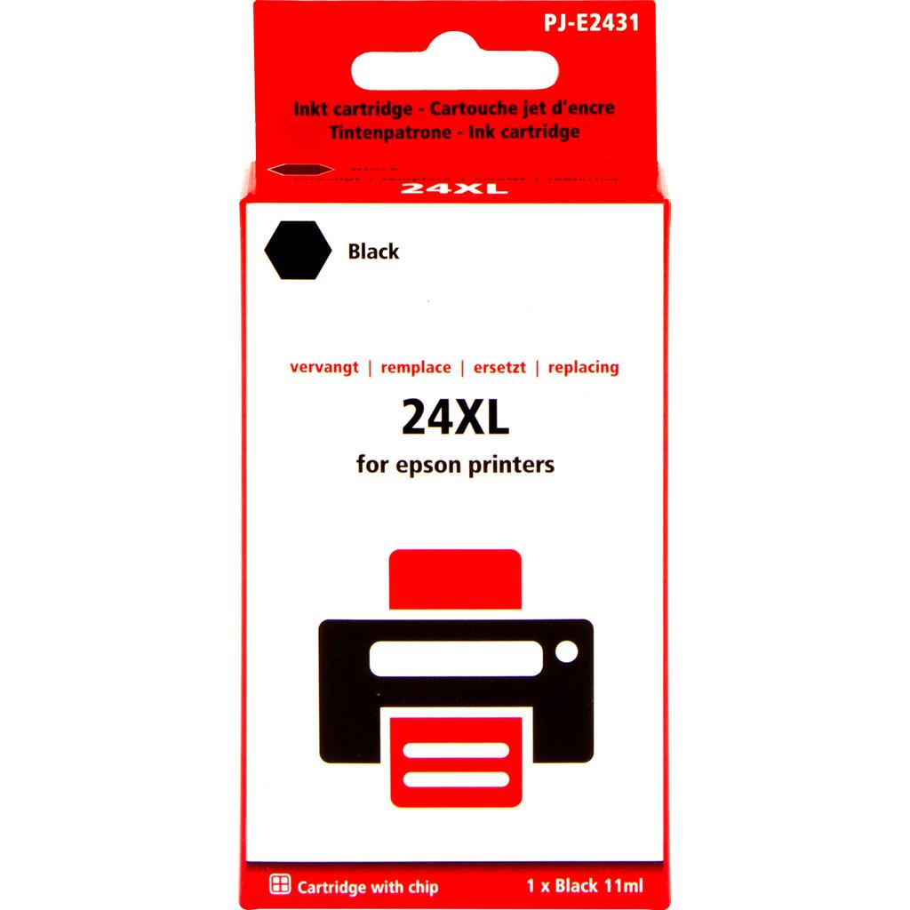 Marque distributeur 24XL Noir pour Epson (C13T24314010)
