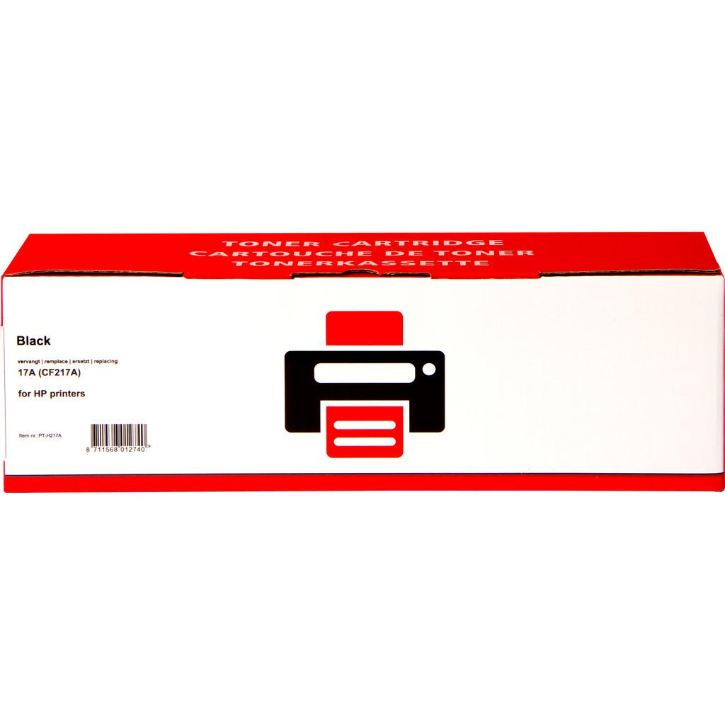 Toner noir authentique 17A pour imprimantes HP (CF217A)