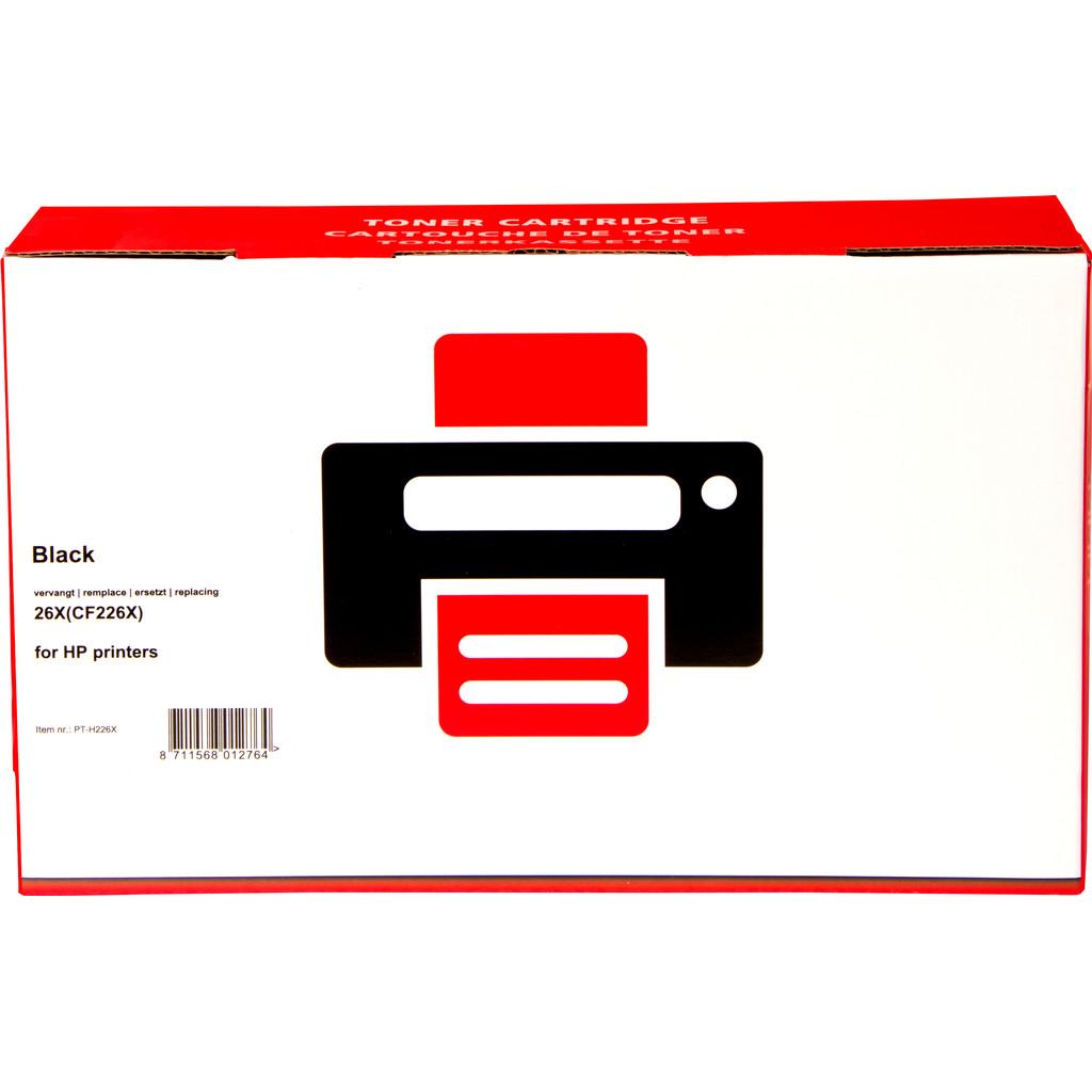 Toner noir générique 26A XL pour imprimantes HP (CF226X)