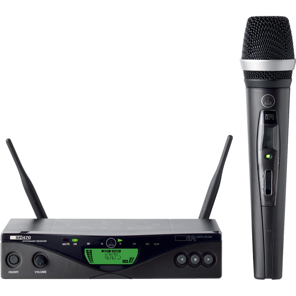WMS470 Ensemble Vocal D5 Band 1 (650 - 680 MHz)